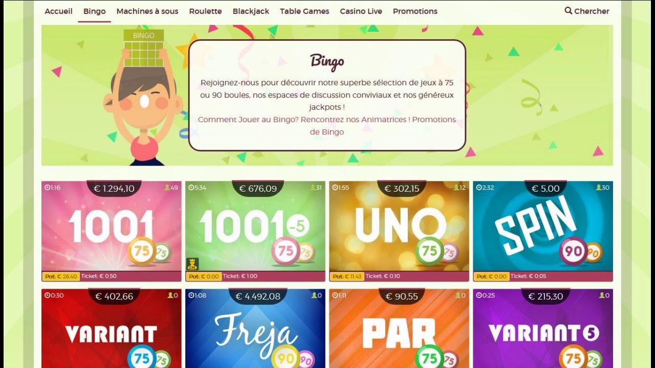 online bingo casino avis